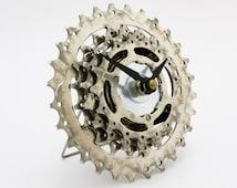 Bicycle Clock - Bike Clock - Industrial Clock - Cycling Gift - Bicycle Clock - Gear Clock - Unique Desk Clock