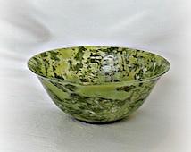 Spinach Jade Bowl Antique