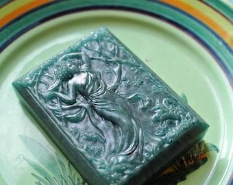 Art Deco Spring Soap - The Four Seasons - Art Nouveau Soap