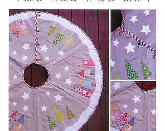 Pattern ''YuleTide'' Tree Skirt Sewing Pattern by Claire Turpin (SA002)