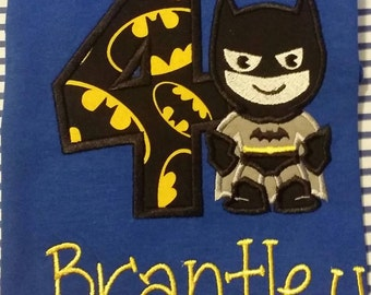 Batman Birthday Shirt
