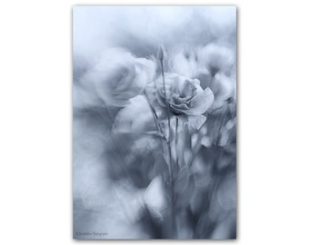 Surreal Art Print, Black and White Print, Monochrome Print, Black and White Photography Print, Floral Black White Photograph
