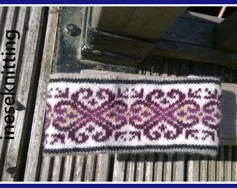 Fair isle headband,