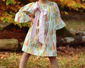 Feather and Arrow Peasant Dress - Infant, Toddler, and Girls - Perfect for Thanksgiving!