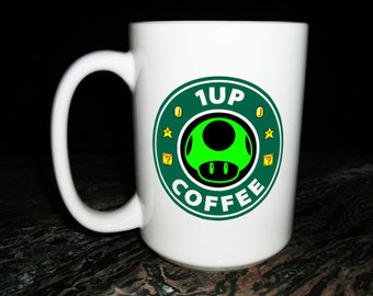 1up Coffee Mug