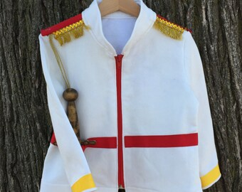 Custom Boy's Prince Charming Costume - made to order - sweater/jacket/shirt