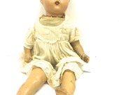 RESERVED / Horseman doll / Doll parts / Doll repair / collectible doll / creepy doll / old doll / 1930s doll