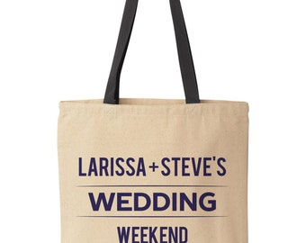 Destination Wedding Totes | Custom Wedding Tote Bags | Mexico Wedding Bags | Personalized Wedding Tote Bags