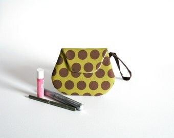 Small Polka Dot Clutch Purse - Small Handbags - Small Purse - Small Bags - Clutch Handbags - Ladies Clutch Bags - Woman's Clutch