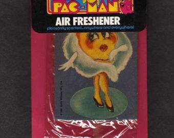 Pac Man Air Freshener, Pac-Man, Air Freshener, BRAND NEW,Pac-Man,1981, Ms PacMan, Vintage Pac Man