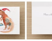 Adorable Firefly/Serenity Christmas Greeting Card // Single Cards and Boxes Available