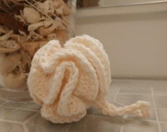 Mini Crochet Bath Puff