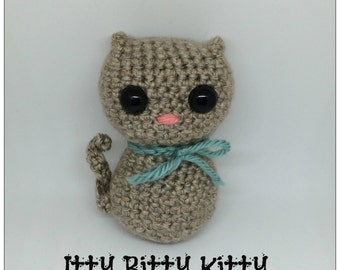 Itty Bitty Kitty Amigurumi