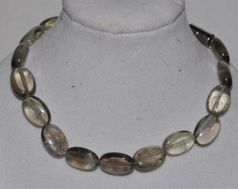 Bracelet Smoky Quartz Magnetic Clasp #545