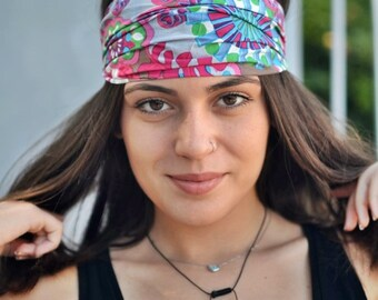 Cotton Headband, Floral Headband, Bandana Headband, Elastic Headband, Fitness Headband, Vintage Headbands, Turban Headband, Womens Turban