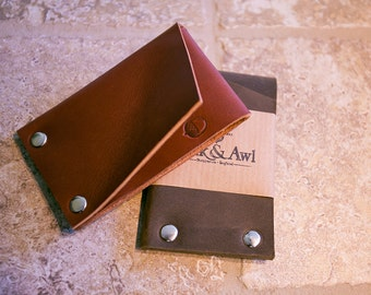 Leather Rivet Wallet + FREE Personalisation