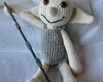 House Elf Crochet Doll