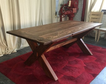 SALE!!  Ready Made Dining Table, Farmhouse Table, Reclaimed Wood Table, Kitchen Table, Custom Table, Solid Wood Table