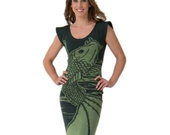 Koi fish dress etsy for Koi fish dress