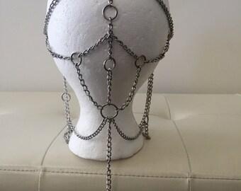 Silver Chain Headdress