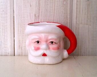Vintage Santa Claus Cup Mug