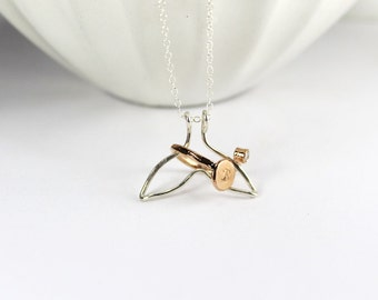 Ring Holder Necklace,Whale Ring Holder Jewelry. Gold Filled Ring Holder Jewelry. Rose Gold Filled Ring Holder,Wedding, Wife, Engagement