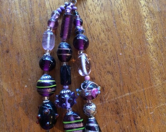Passionate Purple Zipper Pull