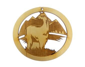 Alpaca Ornament - Alpaca Christmas Ornaments  - Alpaca Ornaments - Alpaca Decoration - Personalized Free