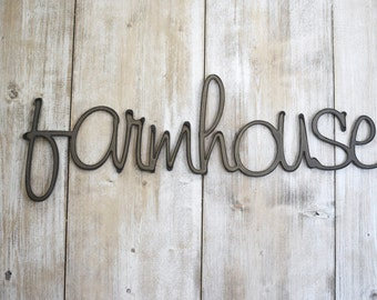 Metal Signs, Farmhouse Signs, Farmhouse, Farmhouse Wall Decor, Christmas  Gift, Wedding