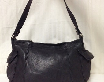 Fossil, Black Leather purse,bags purses, Shoulder Bag, Fossil purse