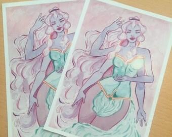 Opal Art Print | steven universe