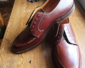 Vintage Deadstock 50s Thom McAn Bootmaster Style Split Toe Blucher 12D