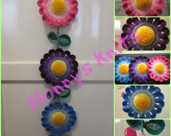 Hanging flower decoration