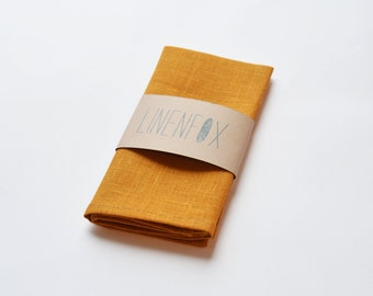 Pocket square, Linen pocket square, Mustard pocket square, Handkerchief, Linen handkerchief, Yellow pocket square, Wedding pocket square