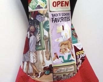 Yesterdays Memories vintage girls apron