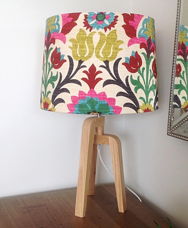 Lampshade Boho Lamp Shade Modern Drum Shade colourful Decor