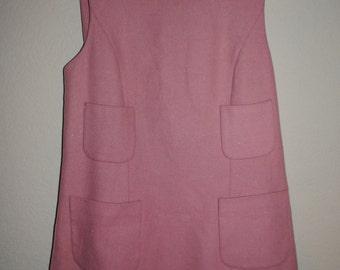 Pink HENGZE Wool shirt