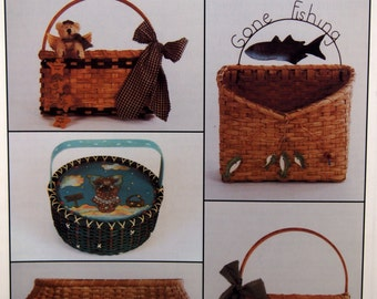 Just Patterns The Idea Magazine For Basketmakers Basket Weaving Pattern Magazine Spring 1999