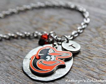 Baltimore Orioles Baseball, Orioles Necklace, Orioles Fan Wear, Orioles Baseball