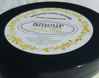 Creamy Whipped Shea Butter (Fast Absorbency)