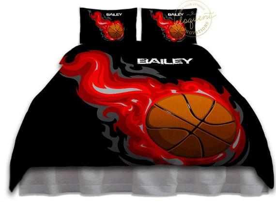Basketball Bedding For Boys Or Girls Set Twin