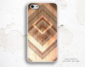 iPhone 6 Plus Case Gold Geometric - iPhone 5 Case Wood Print, iPhone 6s Case Triangle Gold iPhone 6s Plus Case Wood Geometric :1178
