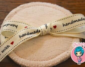 Oscha Roses Vanilla bamboo leakproof breast pads - nursing pads
