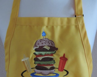 Hamburger Apron