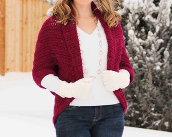 IN STOCK - Cozy Shrug Ribbed look