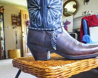 Boot jewlery/ boot bling/ dress up your boots