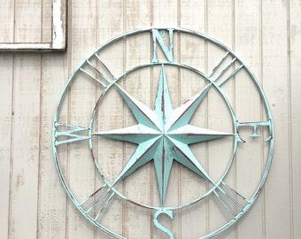 40 Nautical Compass Wall Art Nautical Decor Nautical
