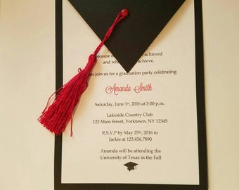 Graduation Invitations - Set of 10