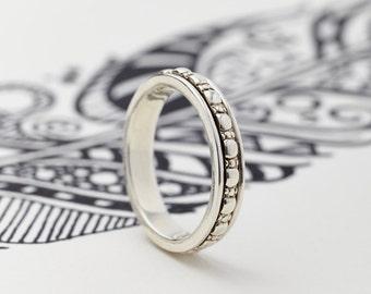 Spinner Rings, Worry Rings, Spinning Rings, Men's Rings, Fidget Rings,Boho Rings,Meditation Rings,Spin Rings,Silver Rings,Celtic Rings JR124