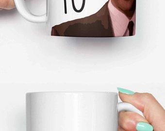 Treat Yo Self Tom Haverford - funny mug, gifts for him, meme mug, unique mug, office mug, housewarming gift, gifts for her 4P113A